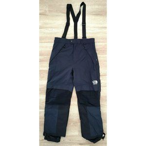 The North Face Mens Blue Black Snow Pants Large